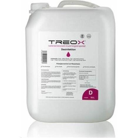Treox - Désinfectant, Virucide Prêt À L'emploi - 10 Litres Rider-tec