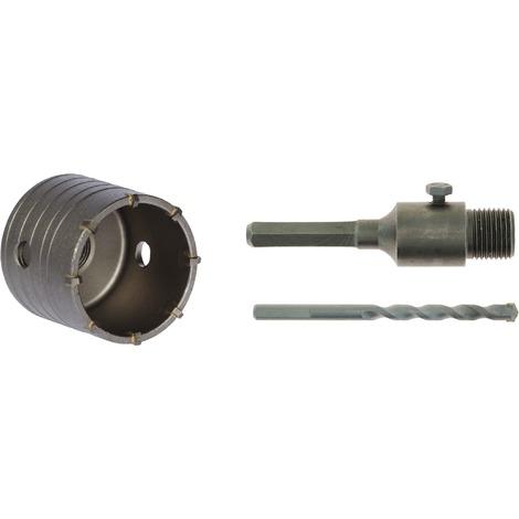 Trépan carbure de tungstène avec foret centreur SCID - Diamètre 68 mm