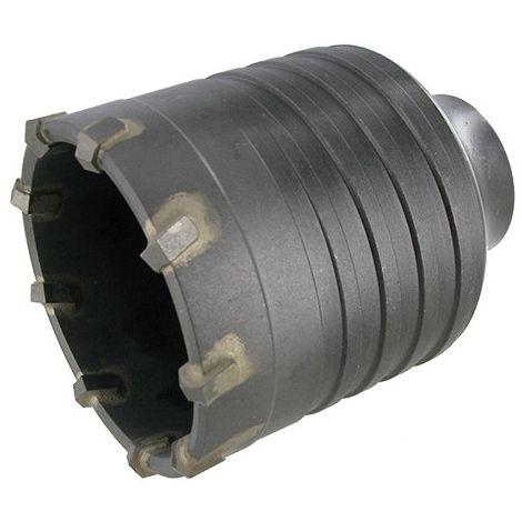 Trépan carbure SDS Max cône 1/8 béton D. 80 mm Ht. 75 mm - 74.068 - Leman - -