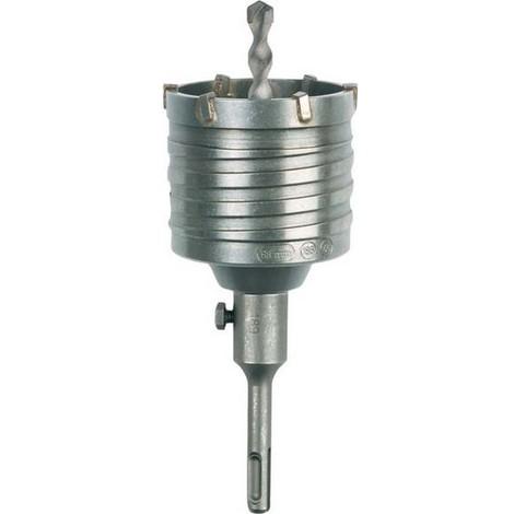 Trépan-couronne, Ø : 80 mm, Domaine d'utilisation Boîtiers de dérivation, Emmanchement SDS-plus