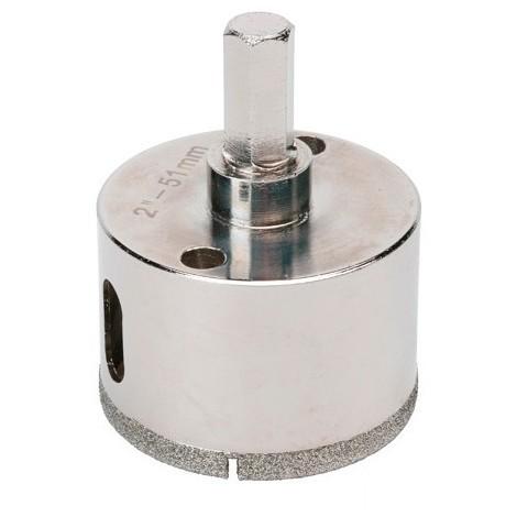 Trépan diamant à eau D.41 x 35 mm sur tige - Céramique/Grès/Granit - 11101408 - Sidamo - -