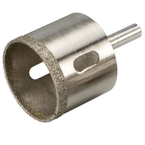 Trépan diamanté D. 45 mm pour grès cérame Lu 35 mm - 571533 - Silverline - -