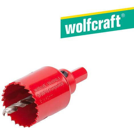 Trépan multimatériau, Diam.Trépan de 20 à 40 mm WOLFCRAFT