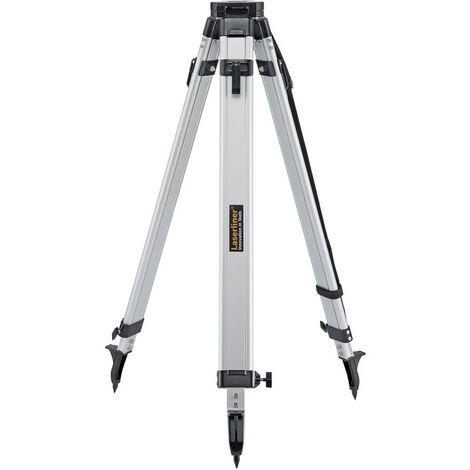 Trépied à tête plate 5/8 Laserliner 080.02 Hauteur (max.)=160 cm