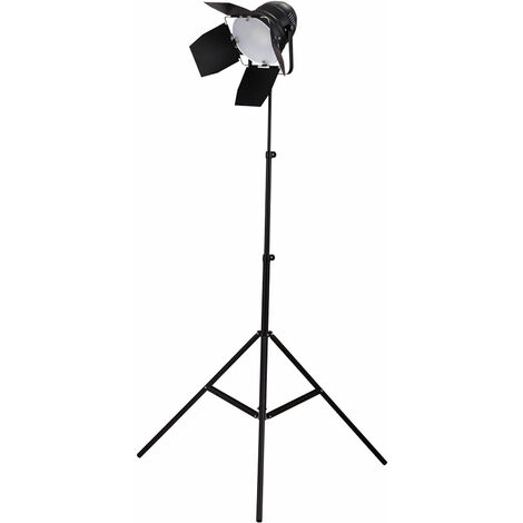 Trépied lampe sur pied studio spot projecteur hauteur réglable spot stand lampe salon design éclairage