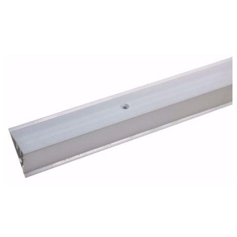 Treppenkantenprofil für Laminat Parkett 4 - 7 mm - 90cm