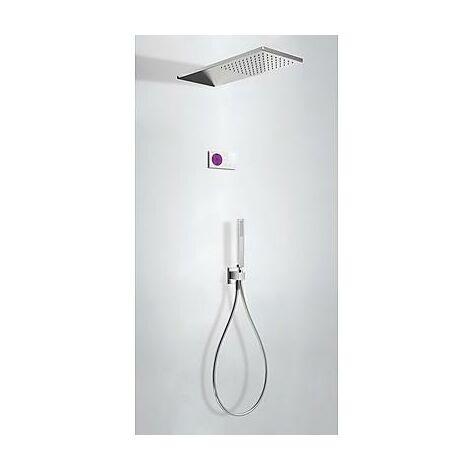 TRES 09286551 Kit electrónico de Ducha termostático Empotrado