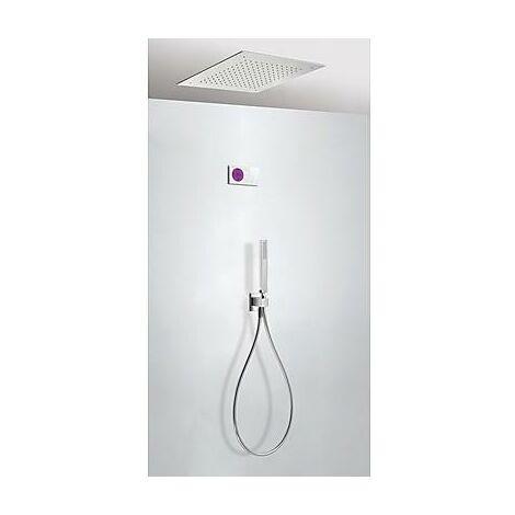 TRES 09286552 Kit electrónico de Ducha termostático Empotrado