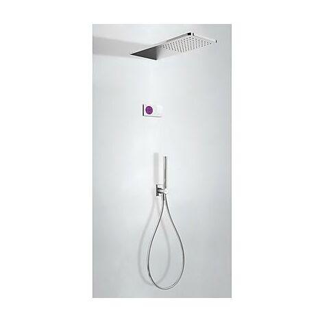 TRES 09286554 Kit electrónico de Ducha termostático Empotrado