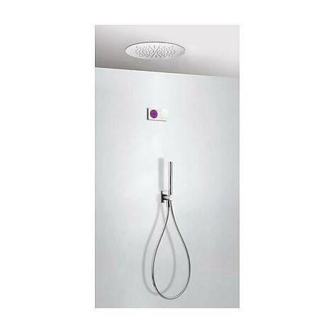 TRES 09286555 Kit electrónico de Ducha termostático Empotrado