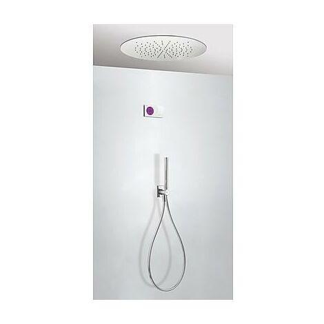 TRES 09286557 Kit electrónico de Ducha termostático Empotrado