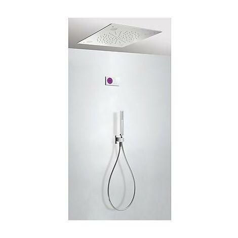 TRES 09286562 Kit electrónico de Ducha termostático Empotrado