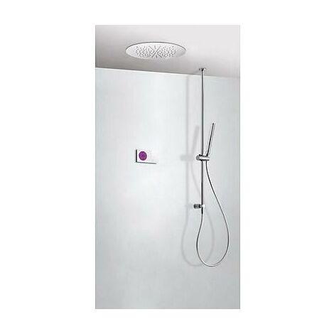 TRES 09286565 Kit electrónico de Ducha termostático Empotrado