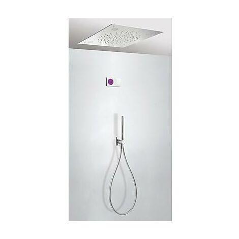 TRES 09286566 Kit electrónico de Ducha termostático Empotrado