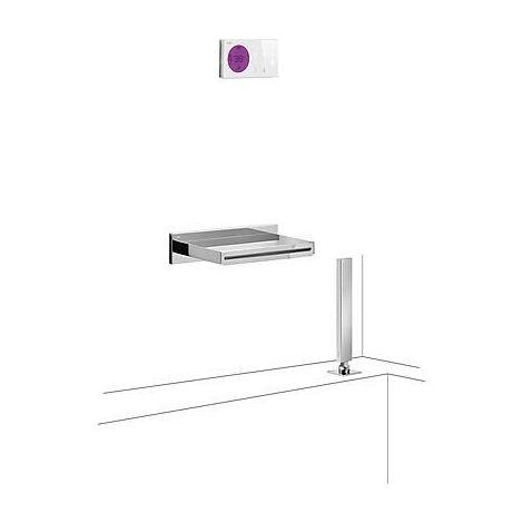 TRES 09286570 Kit electrónico de Bañera termostático Empotrado