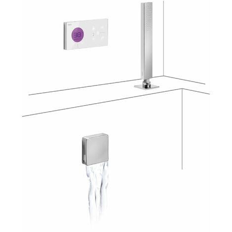 TRES 09286571 Kit electrónico de Bañera termostático Empotrado