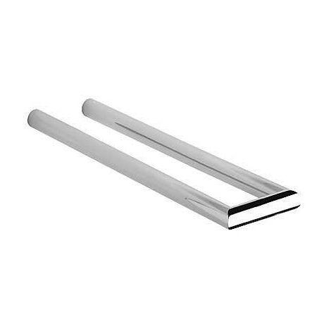 TRES 11463610 Toallero barra doble 350mm.