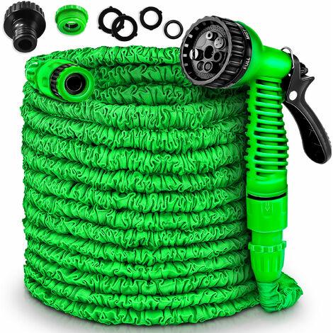 Premium Gartenschlauch 22,5m Flexibler Wasserschlauch dehnbarer Flexischlauch
