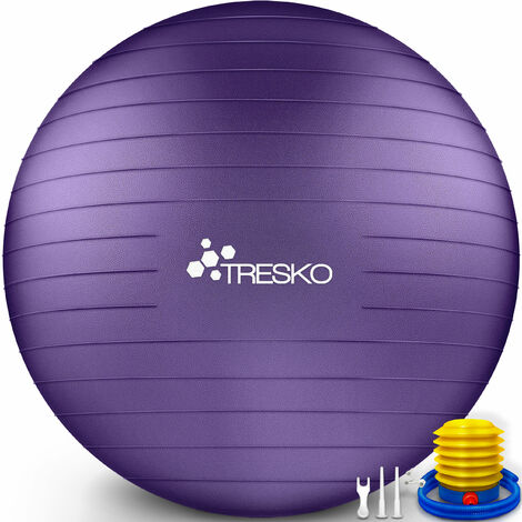 TRESKO Gymnastikball Yogaball Sitzball Fitnessball