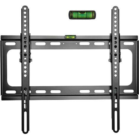 TRESKO® Soporte de pared para TV LED/LCD y plasma inclinable fijación universal televisor VESA soporte de televisor LED aprox. 51 – 138 cm (20 – 55'') VESA 50x50 – 400x400