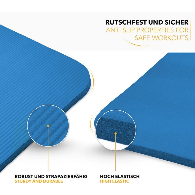 Dimensions 185 x 60 x 1,5 cm ou et 190 x 100 x 1,5 cm sans Phtalates//en Mousse NBR//respecte la Peau TRESKO Tapis dexercice Fitness Tapis de Yoga Tapis de Pilates Tapis de Gymnastique