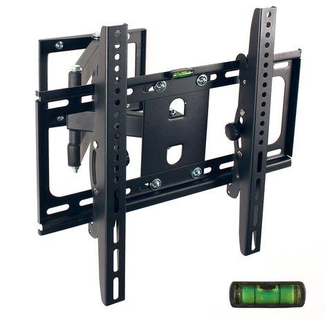 TRESKO® TV Wandhalterung Wandhalter LCD Plasma neigbar schwenkbar LED LCD 26-55 Zoll
