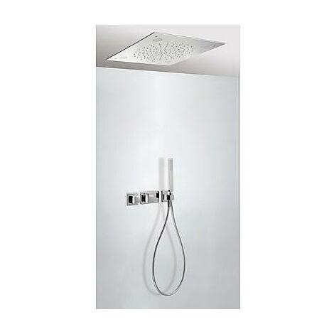 TRESMOSTATIC 20725205 Kit Ducha termostático Empotrado CROMOTERAPIA