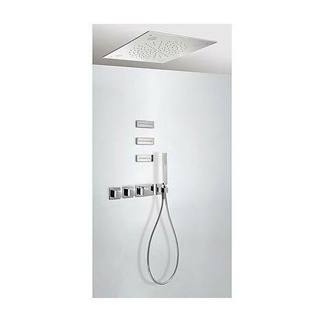 TRESMOSTATIC 20725304 Kit Ducha termostático Empotrado CROMOTERAPIA