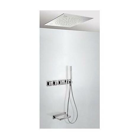 TRESMOSTATIC 20725307 Kit de Bañera termostático Empotrado CROMOTERAPIA