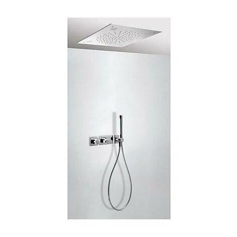 TRESMOSTATIC 20735205 Kit Ducha termostático Empotrado CROMOTERAPIA