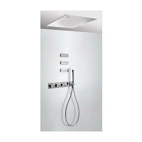 TRESMOSTATIC 20735304 Kit Ducha termostático Empotrado CROMOTERAPIA