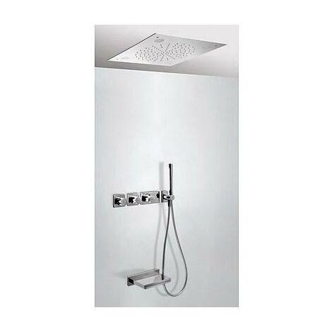 TRESMOSTATIC 20735307 Kit de Bañera termostático Empotrado CROMOTERAPIA