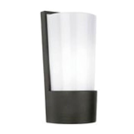Trespian Outdoor Outside Modern Wall Light Lamp Shade for Garden Patio 13W
