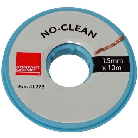 Tresse ruban bande à dessouder dessoudage cuivre 1.5mm/10m Flux No Clean