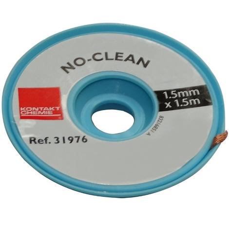 Tresse ruban bande à dessouder dessoudage cuivre 1.5mm/1.5m Flux No Clean