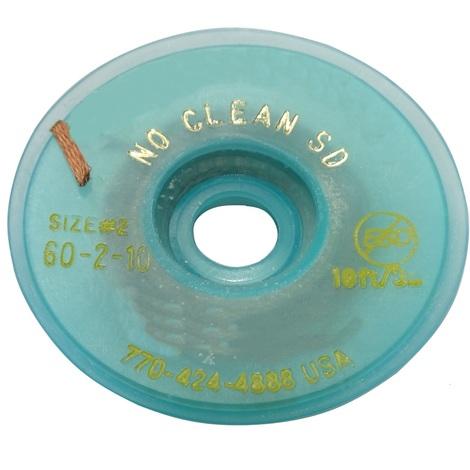 Tresse ruban bande à dessouder dessoudage cuivre 1.5mm/3m Flux No Clean Sans halogènes