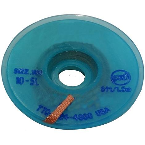 Tresse ruban bande à dessouder dessoudage cuivre 2.54mm/1.5m flux colophane
