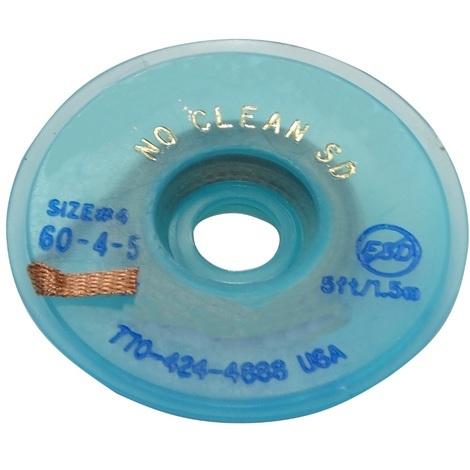 Tresse ruban bande à dessouder dessoudage cuivre 2.8mm/1.5m Flux No Clean Sans halogènes
