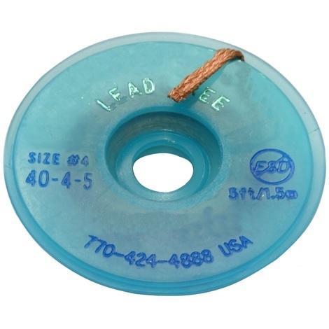 Tresse ruban bande à dessouder dessoudage cuivre 2.8mm/1.5m Flux No Clean Sans plomb