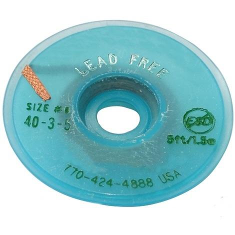 Tresse ruban bande à dessouder dessoudage cuivre 2mm/1.5m Flux No Clean Sans plomb