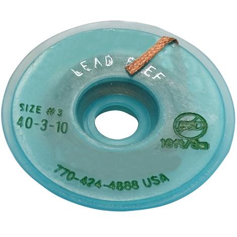 Tresse ruban bande à dessouder dessoudage cuivre 2mm/3m No Clean flux sans plomb