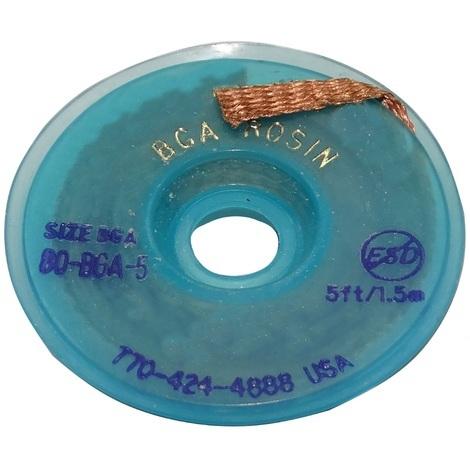 Tresse ruban bande à dessouder dessoudage cuivre 5.6mm/1.5m