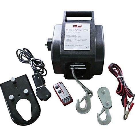 Treuil à câble 900 kg HP Autozubehör 20604 commande filaire, télécommande sans fil