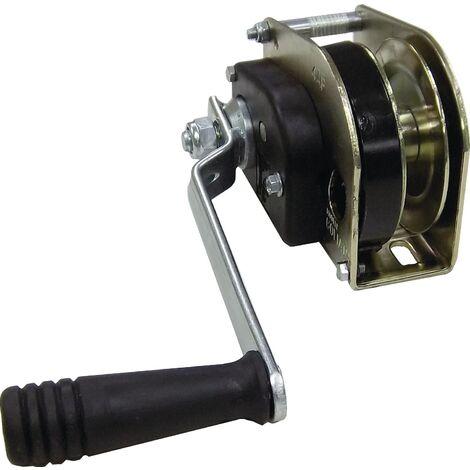 Treuil à câble DIN3051/3060 Force de traction 500 kg Ø de la corde 4 Logement de la corde 10 m auto-freinant galvanisé