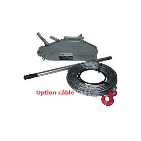 Treuil à câble passant TIR - Capacité : 1600 kg