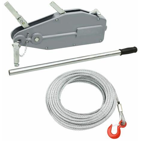 Treuil de levage à câble 800 kg