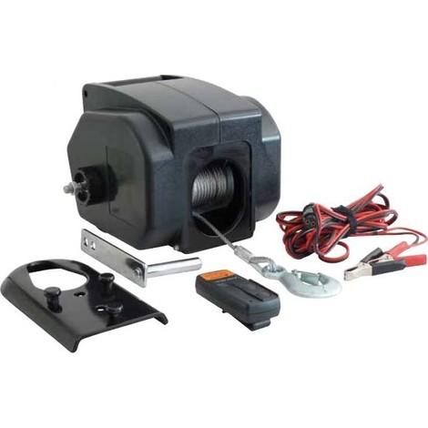 TREUIL DE TRACTION électrique12V -900 KG télécommande Drakkar -S15254