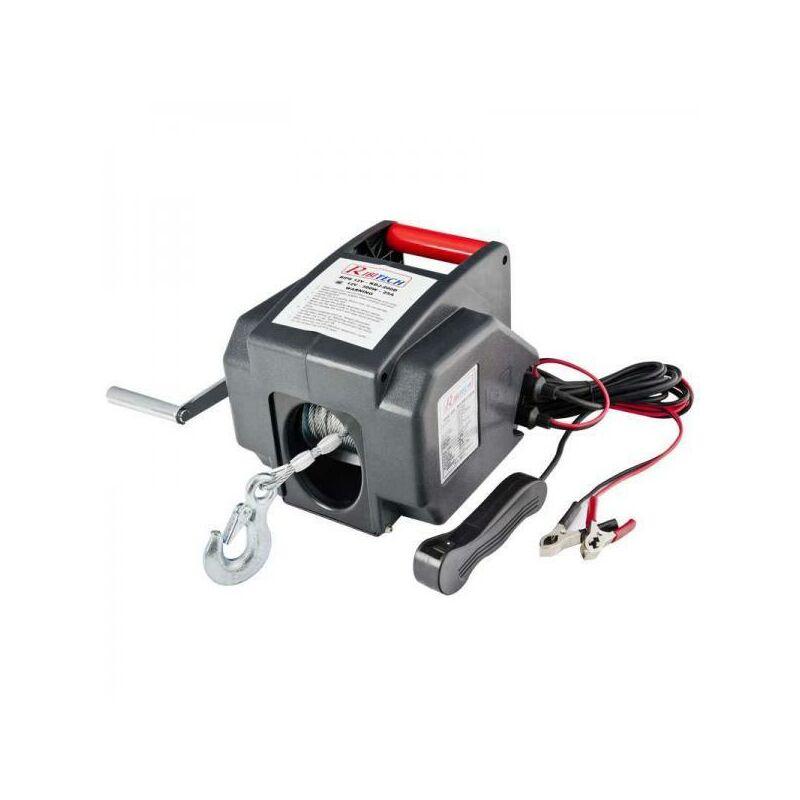 Treuil électrique 12 V Ribitech 300 W 5000 Kg Max Rx