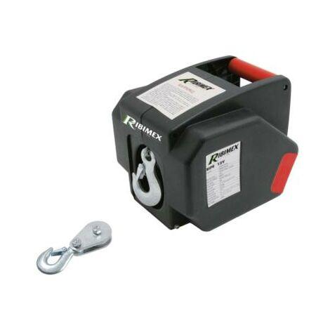 Treuil électrique 12 V RIBITECH - 300 W - 5000 kg max