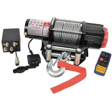 Treuil Electrique 12 Volts 2.70T Avec Cable Acier
